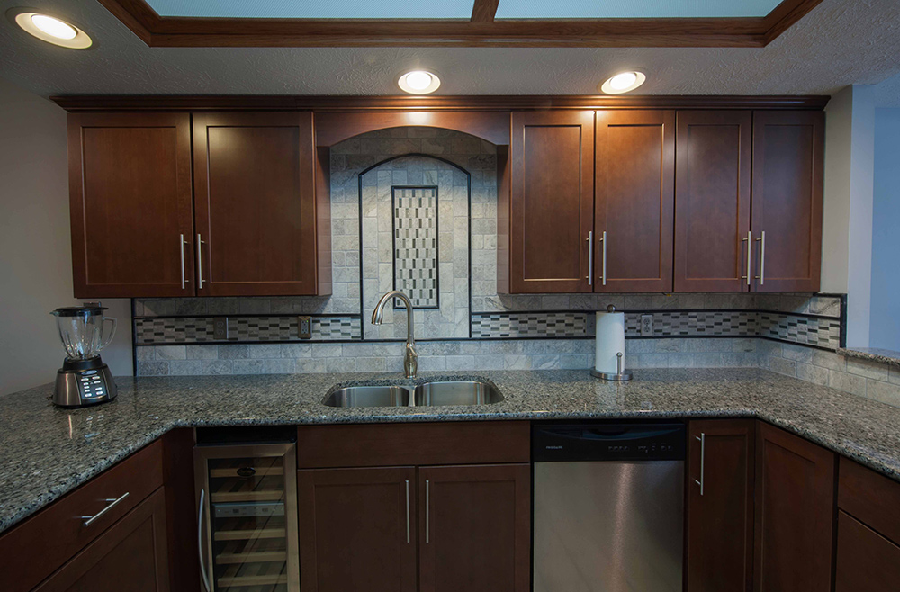 Classic Stone Residential Kitchen